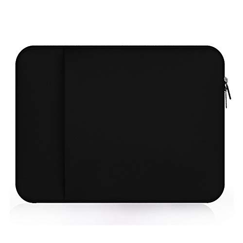 Neoprene 12.5 inch Laptop Tablet Sleeve Case Bag Protective Cover for Apple iPad Pro 12.9' MacBook 12' Surface Pro 6, HP Chromebook x2 HP Stream 11.6, Google Pixel Slate/Pixelbook, Vaio SX12 (Black)