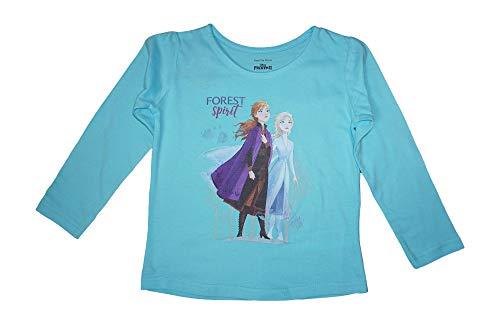 Frozen Die Eiskönigin Mädchen Langarmshirt | Kinder Langarm Pullover 104 / bla