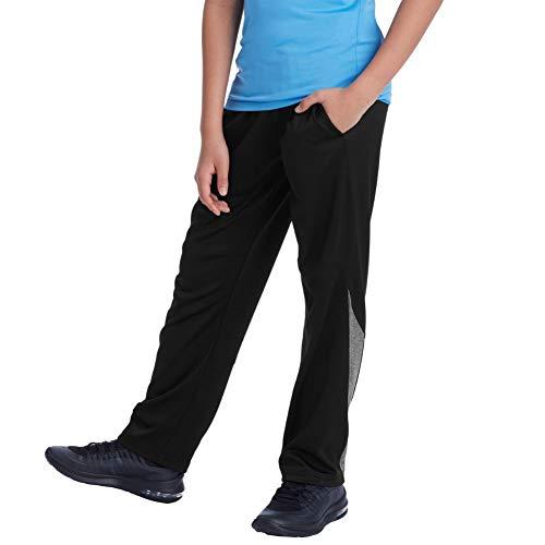 C9 Champion Boys' Open Leg Athletic Pants, Ebony...