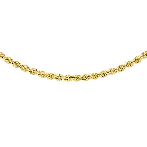 Carissima Gold Zopfkette 9k (375) Gelbgold 41cm/16zoll