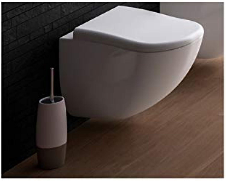 Cielo Fluid wall toilet FLVS-Polished Weiß