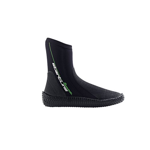Neil Pryde Kinder Jugend Junior Startline Reißverschluss 3MM Neoprenanzug Stiefel Schuhe - Unisex - 3mm super elastischer Neoprenstiefel