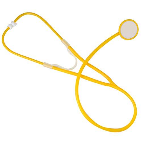 Amosfun niños estetoscopio juguete doctor enfermera juego de rol accesorio accesorio ecómetro...