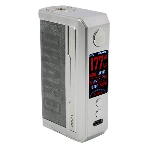 Voopoo Drag 3 177w Box Mod Akkuträger Farbe Smoky Grey