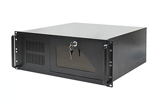 19 Zoll Rack Server Gehäuse 4U / 4HE schwarz - 48cm tief - ATX - NEU
