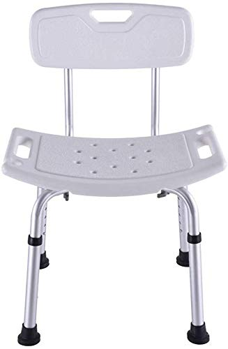 PersonalHeavy Duty Dusche & Bad Stuhl mit dem Rücken, Gewicht Kapazität, Leicht & Sitz höhenverstellbar, ideal für Senioren, Behinderte und Behinderte