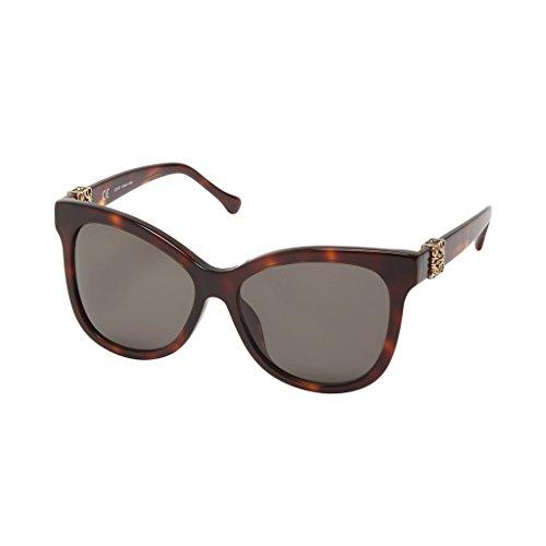Loewe SLW950G5904AP Gafas de sol, Yellow/Dark/Brown, 59 para Mujer