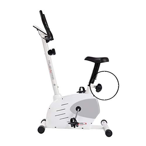 Fitness Stepper Fitness Fahrrad Haushalt Elliptische Maschine Adult Heimtrainer Familien-Fahrräder Fitnessgeräte Ausdauertraining (Color : Weiß, Size : 95 * 65.7 * 149.5cm)
