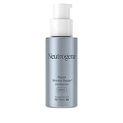 Neutrogena Rapid Wrinkle Repair Anti-Wrinkle Night Accelerated Retinol SA Facial Moisturizer, 1 fl. Oz