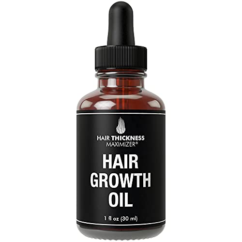 Best Organic Hair Growth Oils Guaranteed. Stop Hair Loss Now by Hair Thickness...