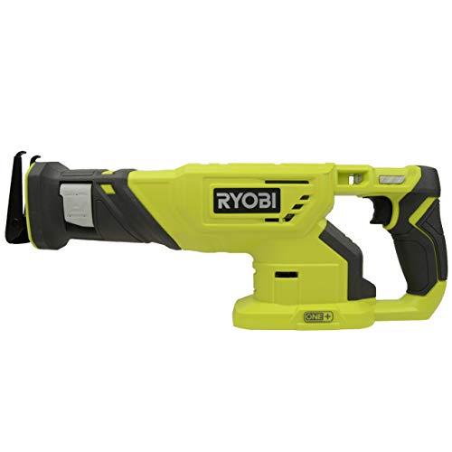 Ryobi P519 18V One+ Reciprocating Saw (Bare Tool) (Renewed)