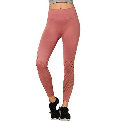 ZEIYUQI yogabroek dames panty high waist shaping fitnessbroek