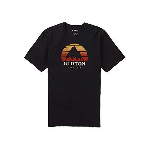 Burton Underhill Camiseta, Hombre, True Black, L