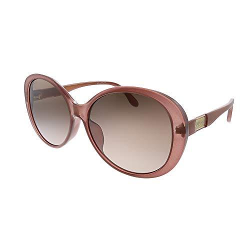 Gucci GG 0793SK 003 Gafas de sol redondas de plástico rosa Lente marrón