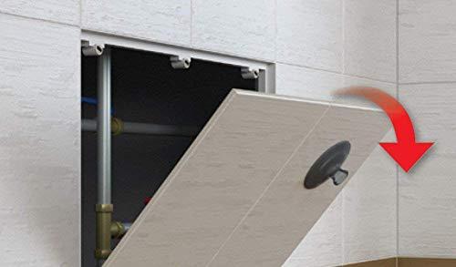 Revisionstür Revisionsklappe magnetisch befliesbar : 150 x 150 mm