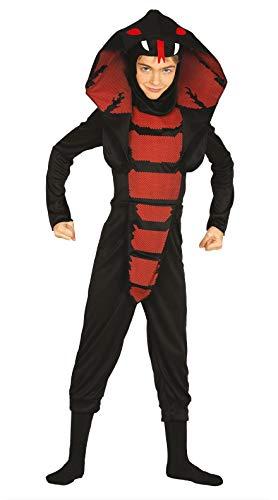 Fiestas Guirca Kostüm Ninja Cobra Kinder grÖsse 5-6 Jahre