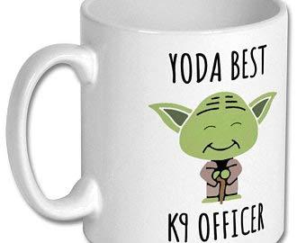 NOT BRANDED Best K9 Officer Mug, k9 Officer,k9 Officer Gift,k9 Officer Mug,k9 Officer Coffee Mug,Gift for k9 Officer