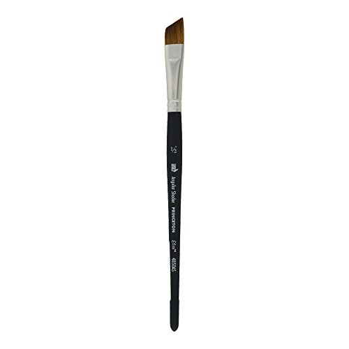Princeton Elite NextGen Artist Brush, Series 4850 Synthetic Kolinsky Sable for Watercolor, Angle Shader, Size 1/2