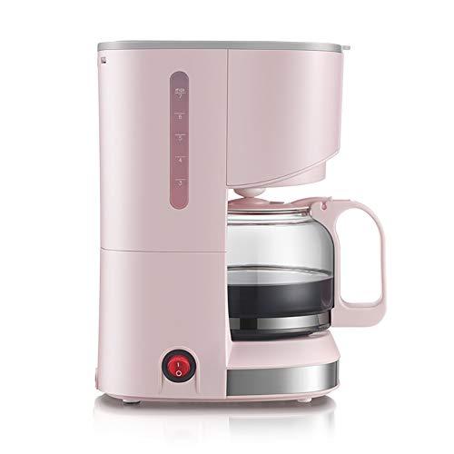 Macchina Da Caffè Caffettiera KFJ-A07V1 550W Espresso Americano A Goccia Macchina Filtro Per Uso Domestico Macchina Da Caffè 0.7L 14 Tazza Può Essere Isolato Rosa Grigio