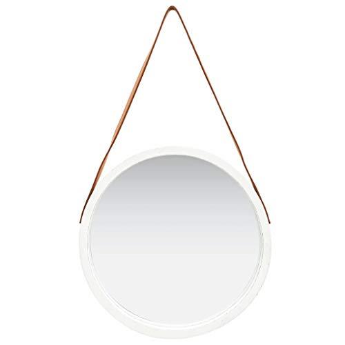 Espejos Pared Blanco Redondo espejos pared  Marca WooDlan