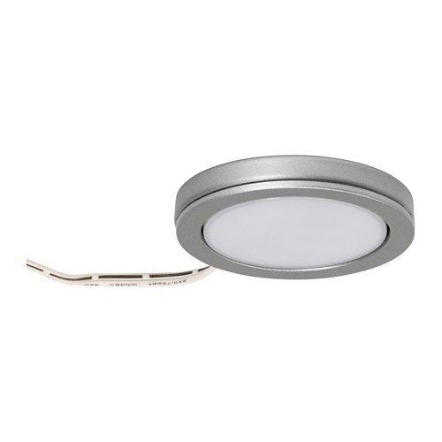 IKEA OMLOPP - LED-Strahler, Alu-Farbe - 6.8 cm