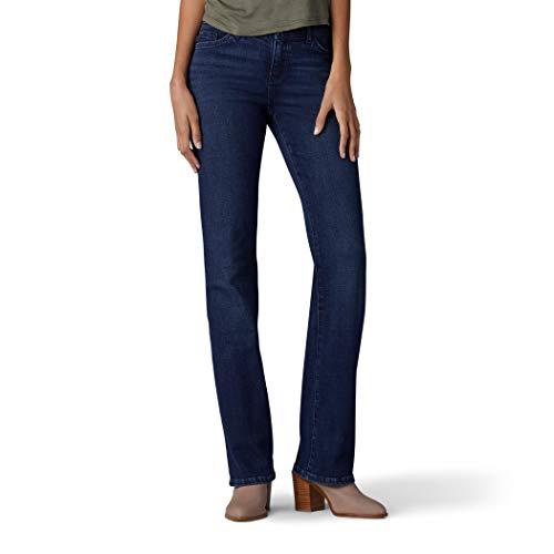Lee Women's Size Flex Motion Regular Fit Bootcut Jean, Renegade, 12 Tall