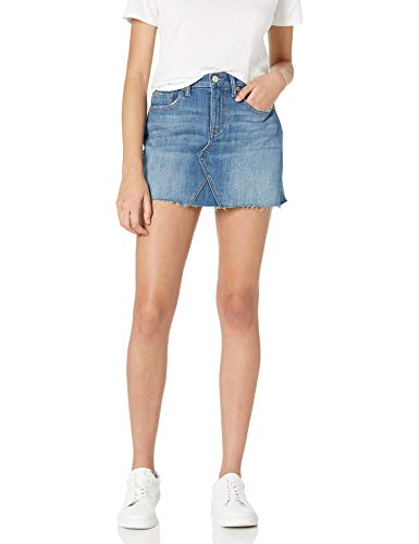 The Drop Women's Rosemore Deconstructed Denim Mini Skirt