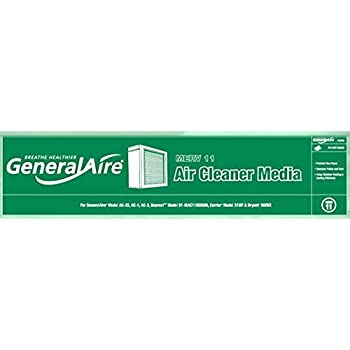 GeneralAire 12758 Replacement Filter
