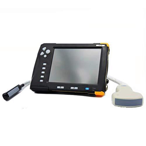 LMEILI Escáner de ultrasonido HD Pantalla táctil Sistema de diagnóstico de ultrasonido Veterinario Impermeable para Perros/Gatos/cerdas/ovejas/Vacas/yeguas