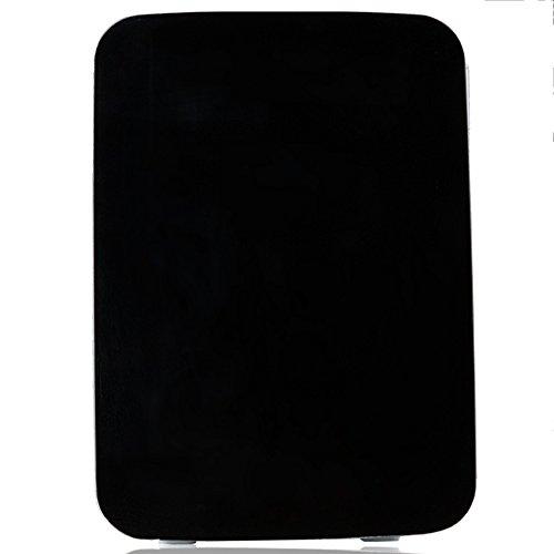LVZAIXI Mini voiture réfrigérateur Refroidisseur & WarmerRefrigerator chauffage alimentaire électrique portable glacière voyage boîte aucun compresseur pour Camping ( Couleur : Noir )