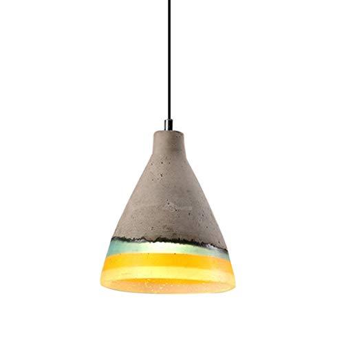 Lámpara moderna pendiente de la luz de techo de la resina, diverso tamaño, iluminación de la cocina del hogar de la barra del café de la panadería XYJGWDD