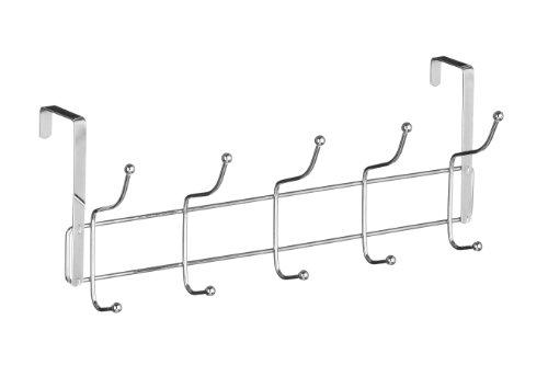 Premier Housewares Hook Over Door Hanger - Chrome