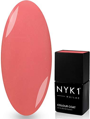 NYK1 NAILAC - ROSEBUD - Professional Shellac Gel Nail Polish - UV & LED Drying - Quick Soak Off Gel Polish 10ml - Over 100 Shellac Colours to Choose From! by NYK1