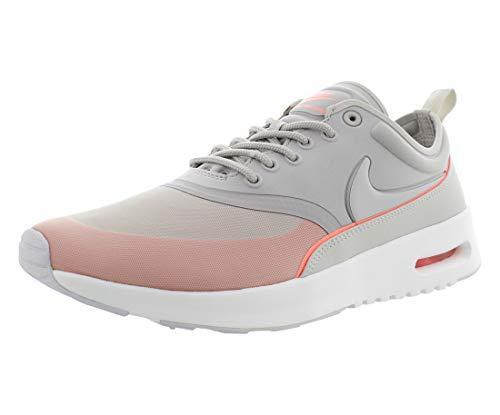 Nike 844926-004, Chaussures de Sport Femme, Gris (Lt Iron Ore/Light Bone-Atomic Pink), 36.5 EU