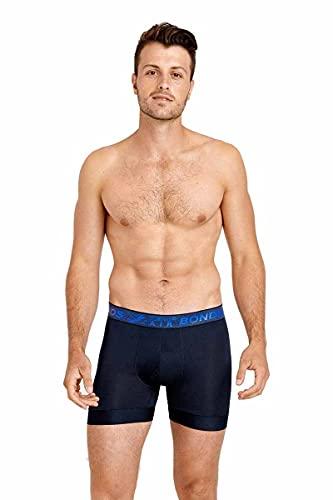 Bonds Men's Underwear X-Temp Air Trunk, Captain McCool / Power Blue, X-Small