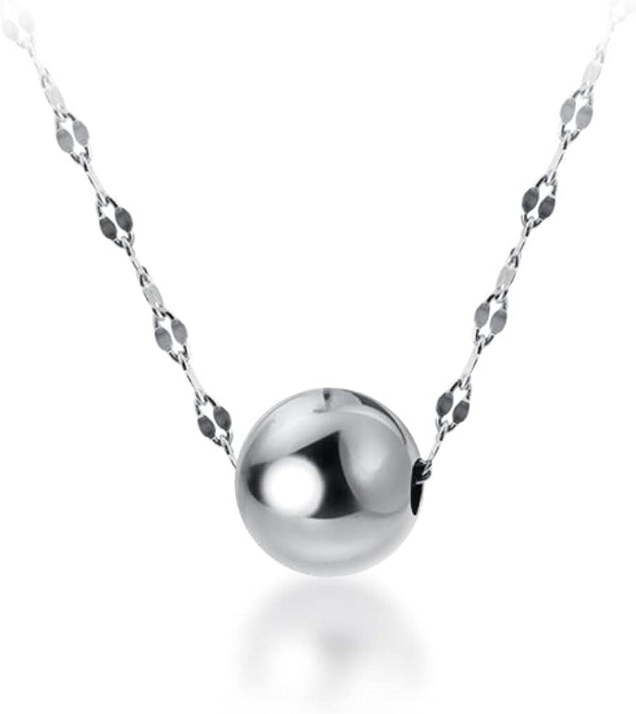 Helen de Japan Maker New Lete High Polish Ball Sterling Houston Mall Silv 925 Simplicity Bead