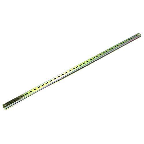 BeMatik - Carril DIN de 1m Perforado Rail de 35x15mm