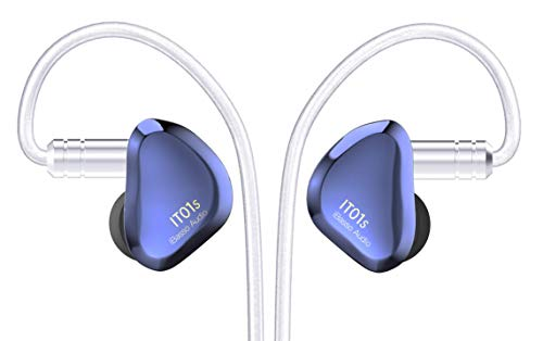 iBasso IT01S Audiophile In-Ear-Monitor, Blau