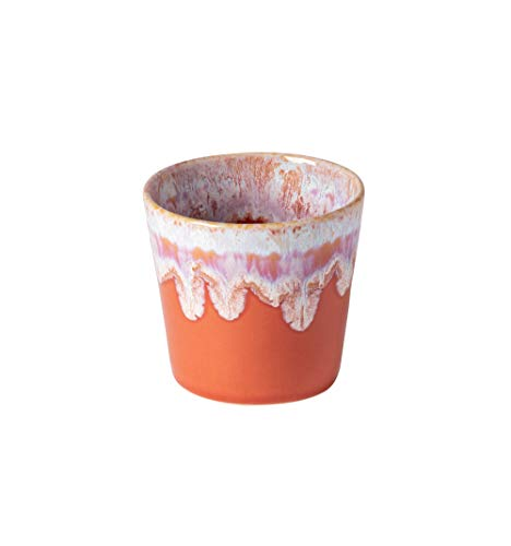 Costa Nova Kollektion Grespresso Tasse Lungo, 0,21 l, Steingut (Sunset Red)