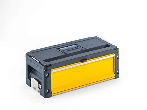 Werkzeugkoffer 1 Schublade Modul Erweiterung gelb