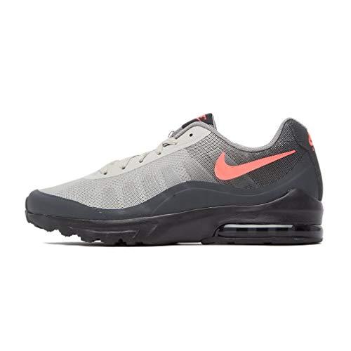Nike Air MAX Invigor, Zapatillas de básquetbol Hombre, Black/Solar Red-Anthracite, 43 EU