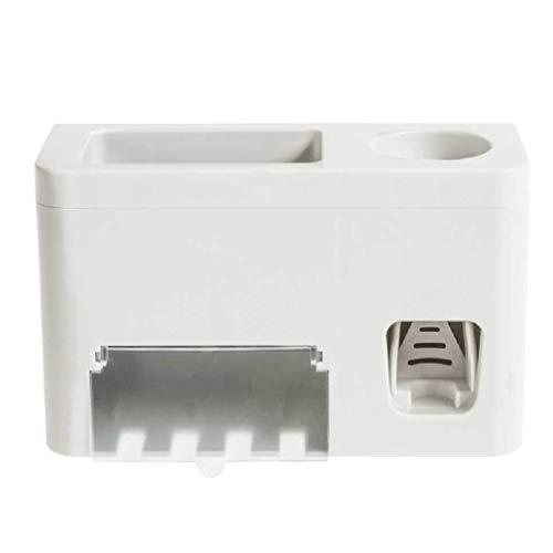 Soporte de cepillo de dientes automático, dispensador de pasta de dientes, soporte para cepillo de dientes, soporte para cepillo de dientes eléctrico, soporte para cepillo de dientes para casa y baño
