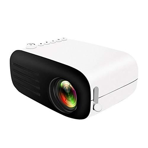 SHISHUFEN YG200 Mini Proyector de Bolsillo LED portátil AV SD HDMI Video Juego de películas Proyector de Video de Cine en casa