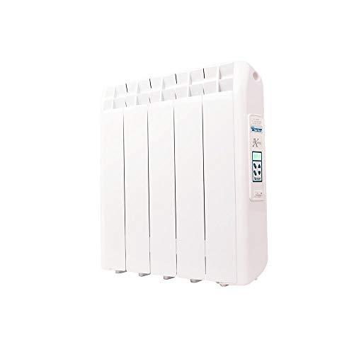 farho Radiador Electrico XP 550W (5) · Emisor Térmico con Termostato Digital Programable 24/7 · WiFi Opcional · Radiadores Electricos Bajo Consumo para estancias de hasta 8 m² · 20 AÑOS DE GARANTÍA