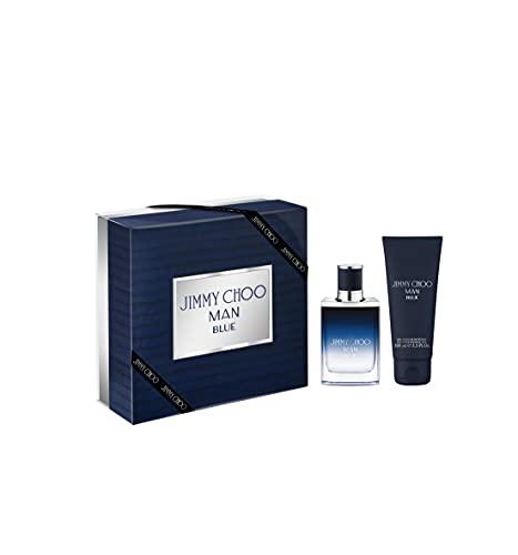 Jimmy Choo Man Blue Geschenkset 50ml EDT + 100ml Douchegel