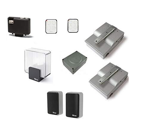 Bidirectionele set voor het automatiseren van poorten met vleugeldeuren tot 2,3 m 24 VDC, interrato Code SFAB2124BDKCE