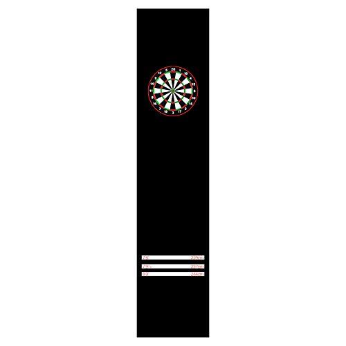 Protector De Piso para Alfombrillas De Dardos con Línea De Tiro, Dardos Esteras De Poliéster De Nylon De Piso Antideslizantes para Todos Los Tipos De Dardos