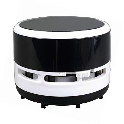Alassio 70521 - Mini Vacuum Cleaner, bureaustofzuiger, zwart/wit