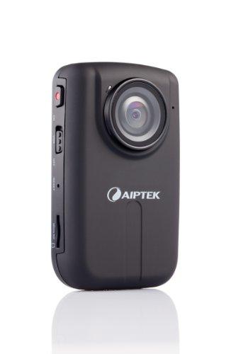 Aiptek SportyCam Z3 Full-HD Camcorder (5 Megapixel, 3,7 cm (1,5 Zoll) Display, 4-Fach dig. Zoom, HDMI, USB 2.0) schwarz