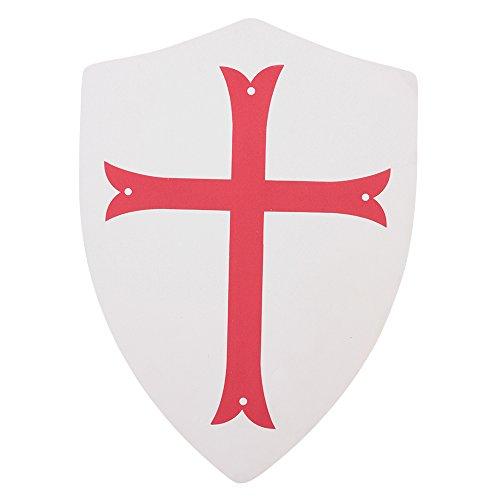 Hero's Edge Crusader Cross Foam Shield for Cosplay and LARP